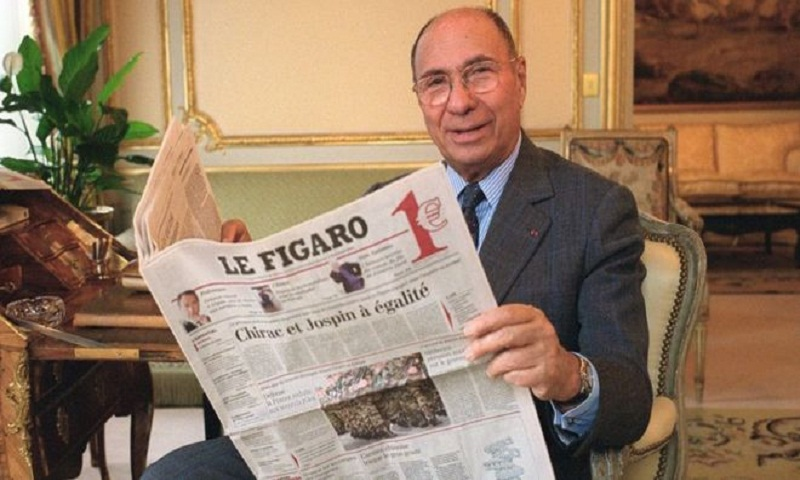Serge Dassault, French billionaire entrepreneur, dies at 93