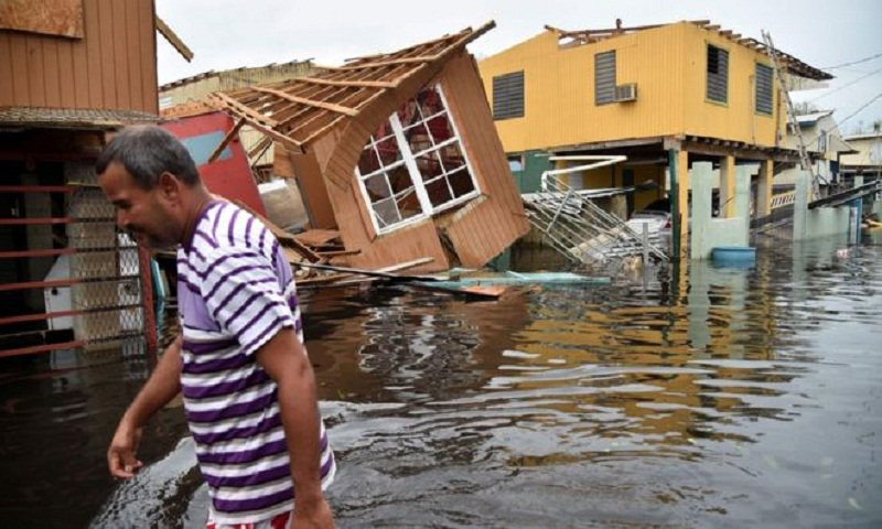 Hurricane Maria 'killed 4,600 in Puerto Rico'