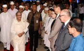 PM Sheikh Hasina joins armed forces' iftar