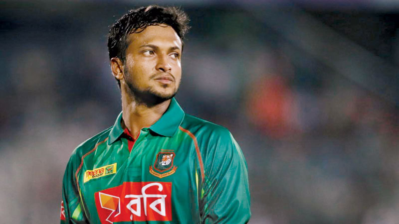 Confident Shakib leaves for India to play T20I series against Afghanistan
