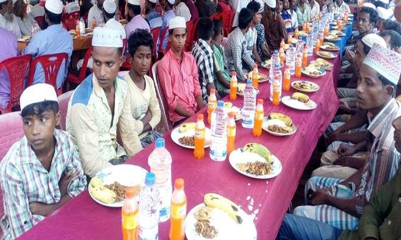 Iftar during Ramadan helping Rohingyas to forget atrocities