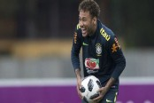 Neymar on fast track to full fitness says Brazil teammate Danilo