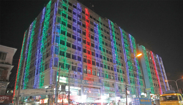 Mall illuminations causing waste of electricity