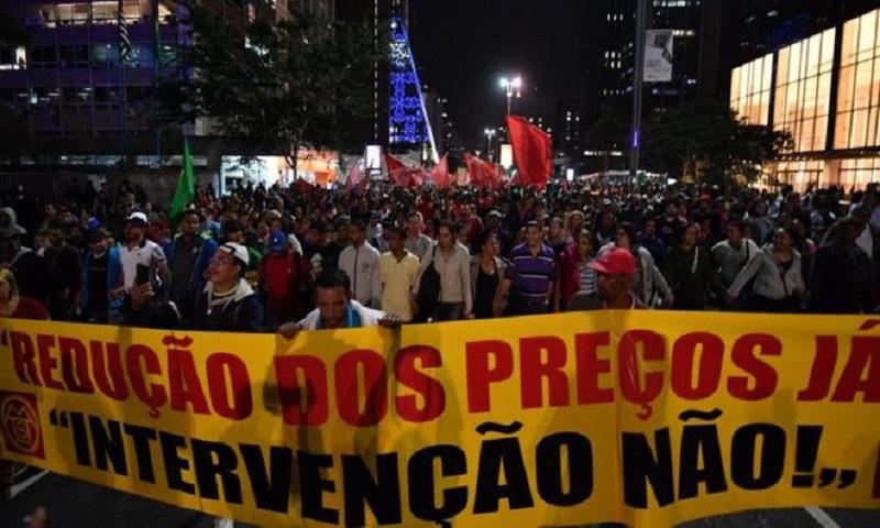 Brazil Petrobras oil boss Pedro Parente resigns amid protests