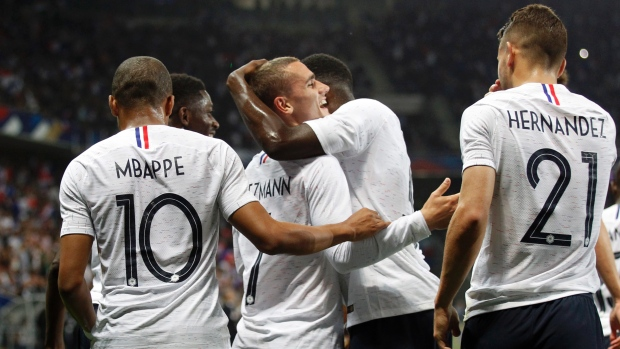 France shows attacking potential with 3-1 win against Italy