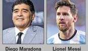 Maradona gives Messi advice for World Cup