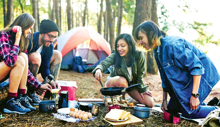 3 Tips for Cooking Healthy While Camping-313181