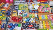 Affliction struck by plastic toys to kid's health