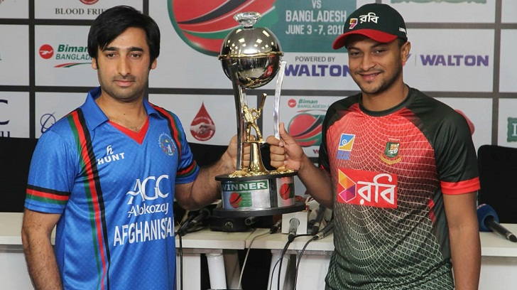 Afghanistan beat Bangladesh in 1st T20 match