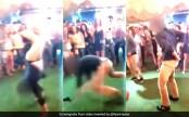 FBI agent's gun discharges during dance floor backflip