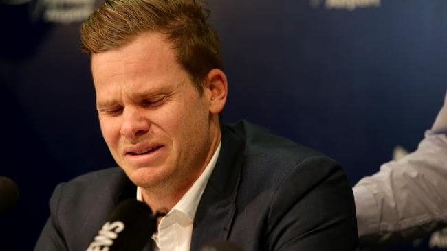 Smith 'cried for four days' after tampering scandal