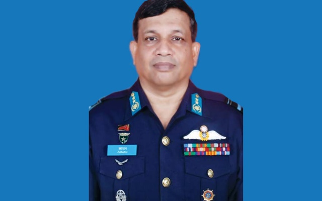 Masihuzzaman Serniabat made Bangladesh Air Force chief