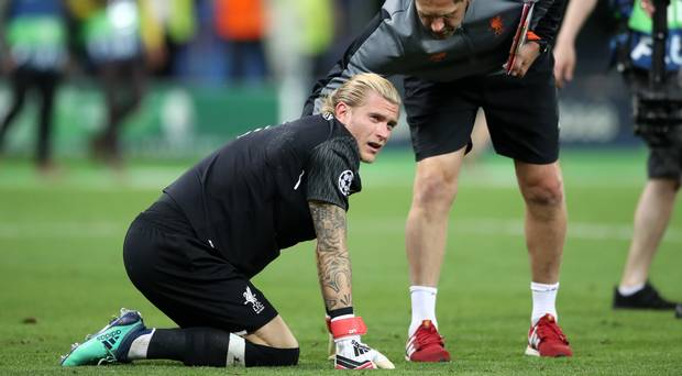 Liverpool's Karius had concussion in Champions League final