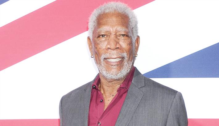 Morgan Freeman returns to work   2018-06-05   daily-sun com