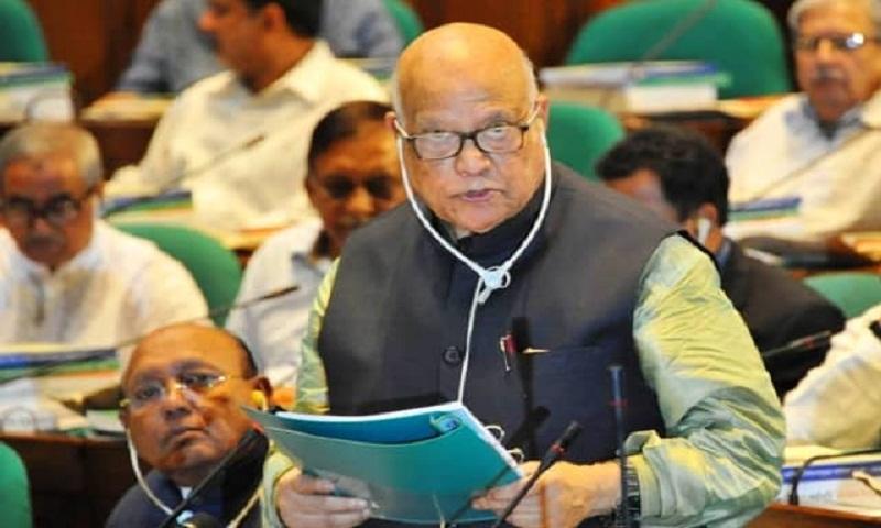 Muhith to place 'Tk 468,200 cr' mega budget Thursday
