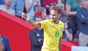 Tite hails extraordinary Neymar's golden return