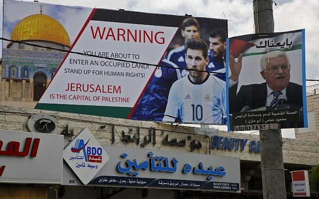 Argentina cancels Israel World Cup friendly after Gaza violence