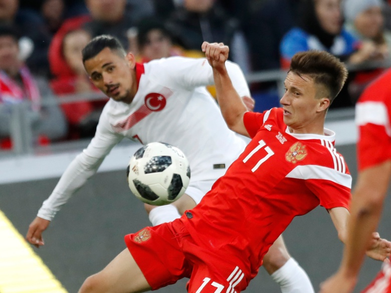 Russia extends winless run against Turkey ahead of World Cup
