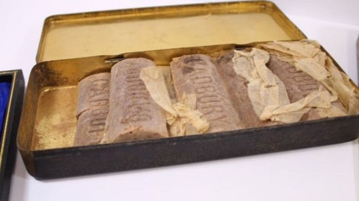 WWI hero's 103-year-old chocolate found