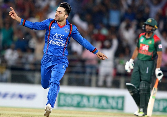 Khan's four-for helps Afghanistan clinch T20 series