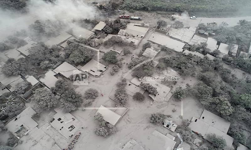 'Nobody is left': Guatemala volcano ravaged entire families