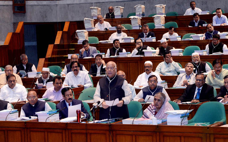 Muhith places Tk. 4,64,573 crore national budget