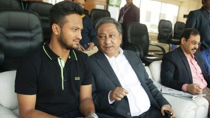 BCB president criticises Shakib and senior batsmen after series loss to Afghanistan