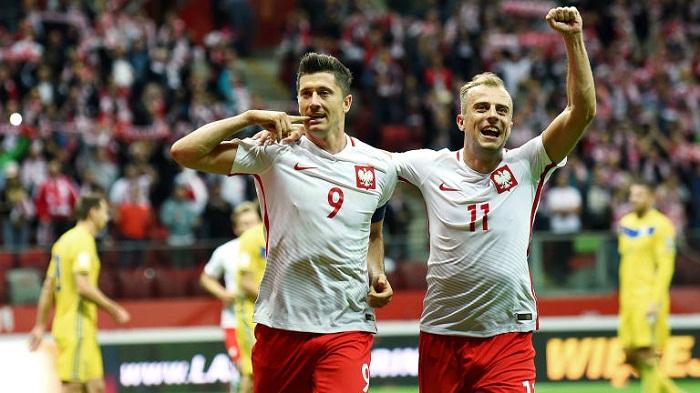 Poland and Uruguay climb ahead of Russia 2018