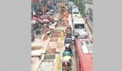 Road digging irks city people