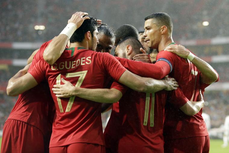Ronaldo's return inspires Portugal past Algeria