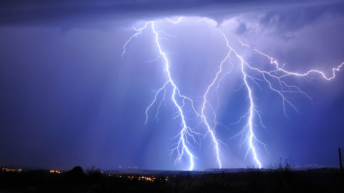 Climate change could spark more lightning strikes, igniting fires