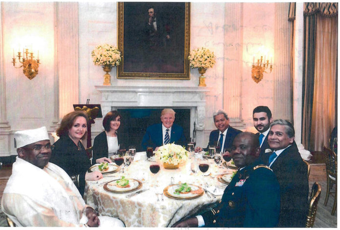 Bangladesh envoy attends Iftar at White House