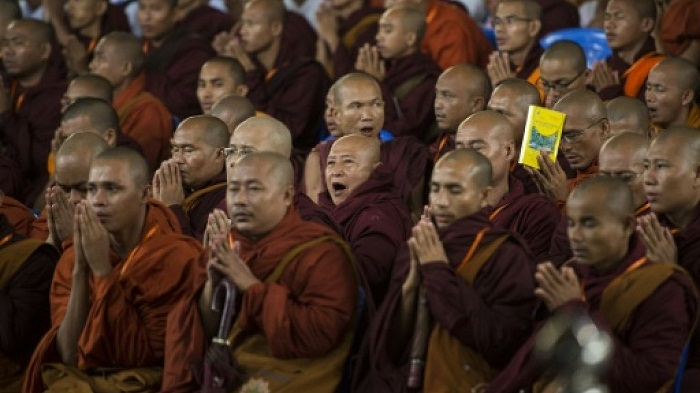 Facebook blacklists Myanmar hardline Buddhist group