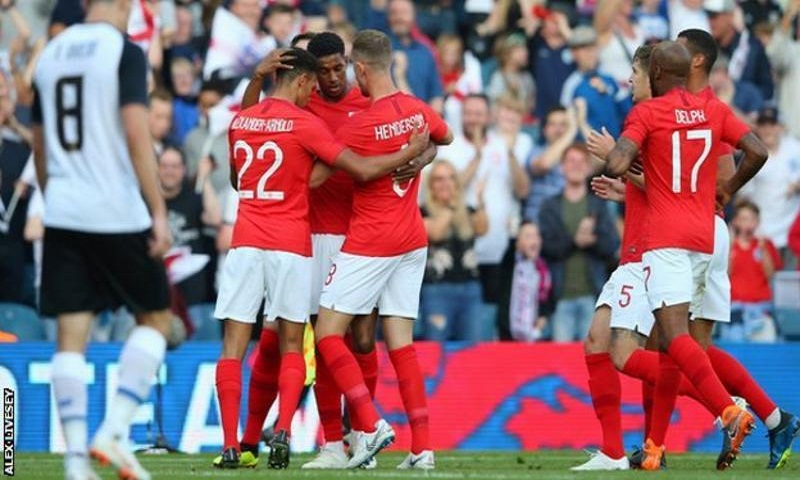 England completes World Cup prep by beating Costa Rica 2-0