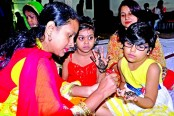 Henna festival held at Jatiya Press Club
