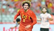 Belgium thrash Salah-less Egypt in warm-up