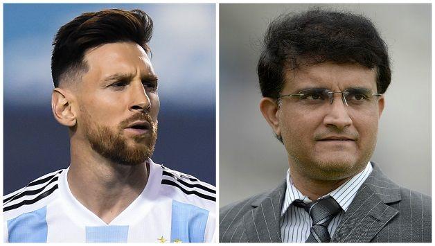 Sourav Ganguly hopeful of Messi magic