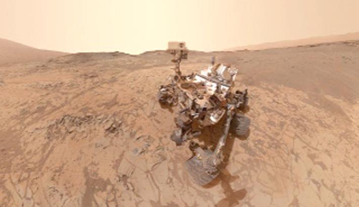 Curiosity sees Mars methane swing
