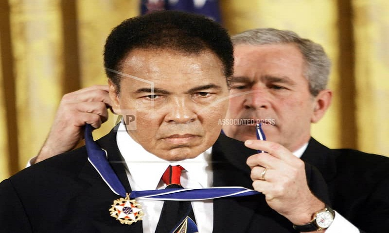 Trump considers pardon for Ali, wants athletes' advice