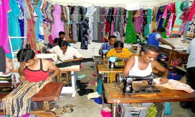 Brahmanbaria tailors busy ahead of Eid