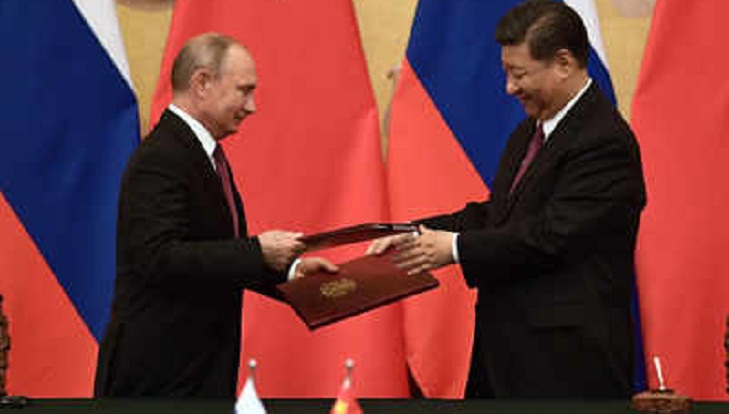 China's Xi hails 'unity' of security bloc led with Russia