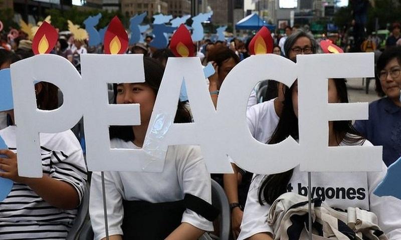 Trump: Kim has one shot at peace at Singapore summit