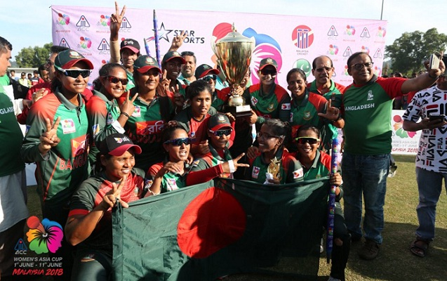 Bangladesh clinch Women's T20 Asia Cup