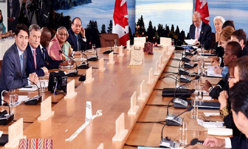 PM Sheikh Hasina pushes for full implementation of Paris deal
