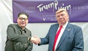 Trump, Kim lookalikes hold 'summit' in S'pore