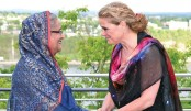 Hasina attends  outreach session  of G7 Summit