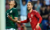 Denmark beat Mexico 2-0 in World Cup warm-up match