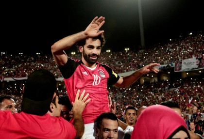 159cc63b3 Egypt fans pin hopes on injured Salah for World Cup glory