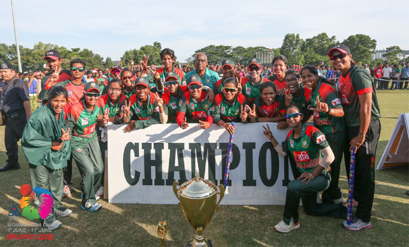 Jatiya Sangsad congratulates women cricket team
