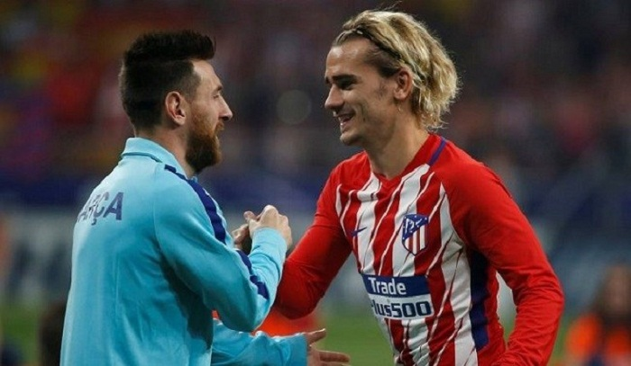Messi would welcome Griezmann at Barcelona